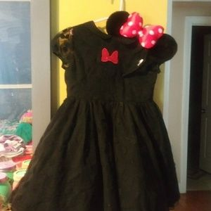 Size 4-5 Mickey Mouse Dress